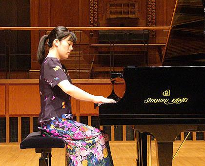 吉田 裕子ピアノリサイタル開催レポート